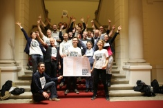 Im November feierten wir die Divestment-Empfehlung der Enquete-Kommission - Rückenwind für einen Divestment-Antrag im Abgeordnetenhaus