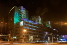 Klimastreik 20.09.2019 - Projektionen Berlin by Saskia Uppenkamp   Photographer